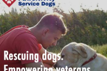 Rescuing Dogs. Empowering Veterans.